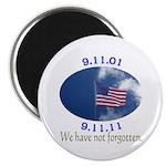 9-11 Not Forgotten Magnet