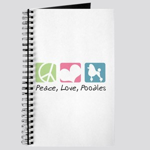 Peace, Love, Poodles Journal