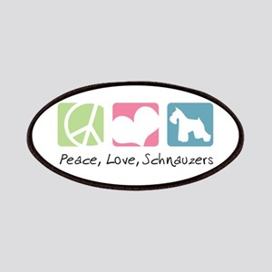 Peace, Love, Schnauzers Patches