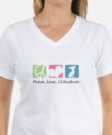 Peace, Love, Chihuahuas Shirt