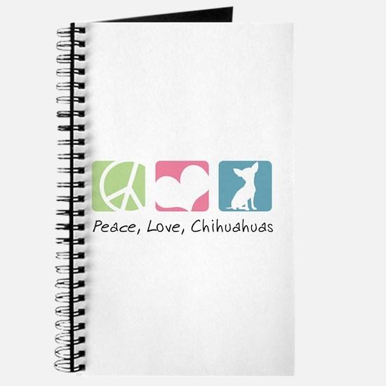 Peace, Love, Chihuahuas Journal