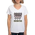 Sgk38 Women's V-Neck T-Shirt