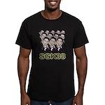 Sgk38 Men's Fitted T-Shirt (dark)