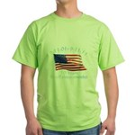 10 Years 9-11 Remember Green T-Shirt