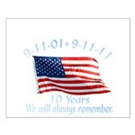 10 Years 9-11 Remember Small Poster