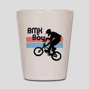 1980s BMX Boy Shot Glass