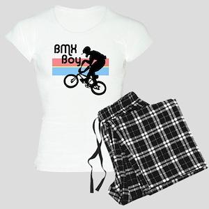 1980s BMX Boy Women's Light Pajamas