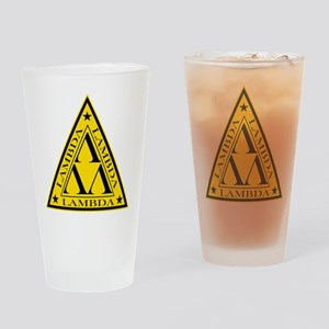 Lambda Lambda Lambda Drinking Glass