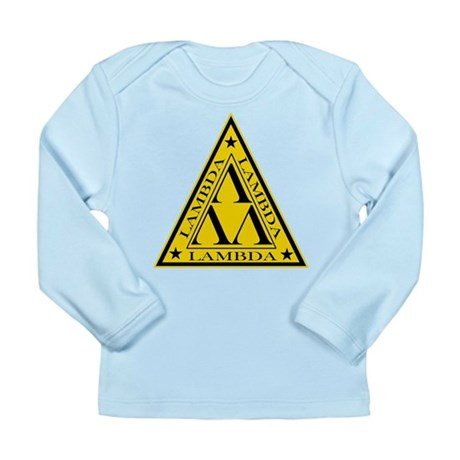 Lambda Lambda Lambda Long Sleeve Infant T-Shirt