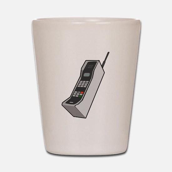 1980's Cellphone Shot Glass