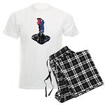 Worn Retro Joystick Men's Light Pajamas