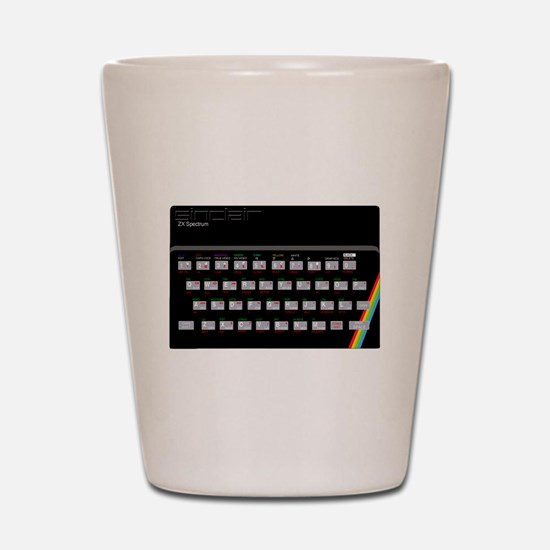 Sinclair ZX Spectrum Shot Glass