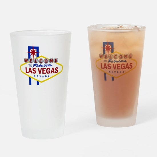 Welcome to Fabulous Las Vegas Drinking Glass