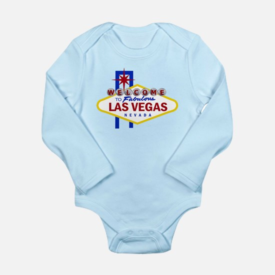 Welcome to Fabulous Las Vegas Long Sleeve Infant B