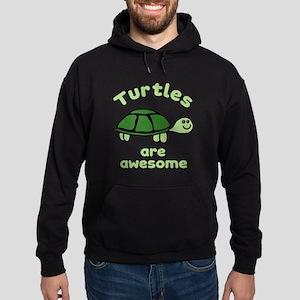 Turtles are Awesome Hoodie (dark)