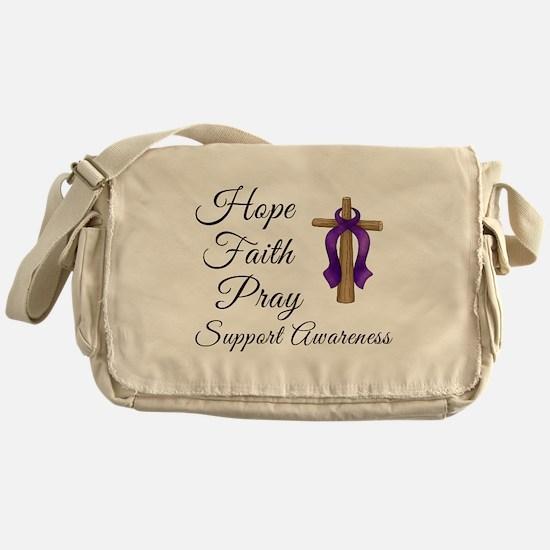 Support Awareness - Lupus Cro Messenger Bag