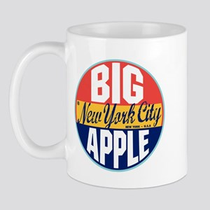 New York Vintage Label Mug