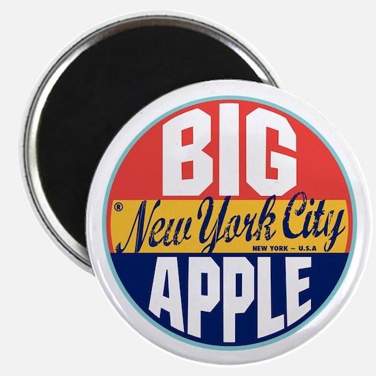 New York Vintage Label Magnet