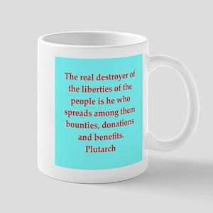 Plutarch's wisdom Mug