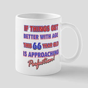 Funny 66th Birthdy designs Mug