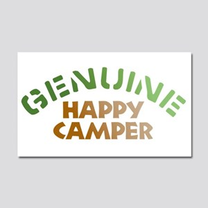 Genuine Happy Camper Car Magnet 20 x 12