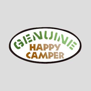 Genuine Happy Camper Patches
