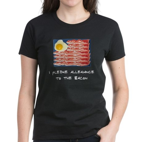 Allegiance To the Bacon Women's Dark T-Shirt