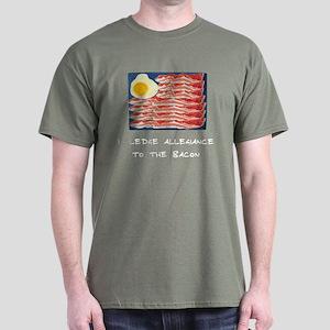 Allegiance To the Bacon Dark T-Shirt