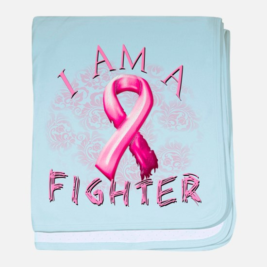 I Am A Fighter baby blanket
