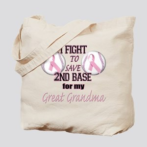 I Fight To Save 2nd Base for Tote Bag