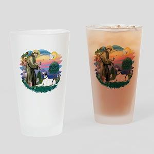 St.Francis #2/ Greyhound Drinking Glass
