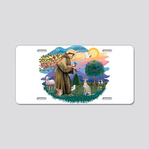 St.Francis #2/ Ital Grey (f) Aluminum License Plat
