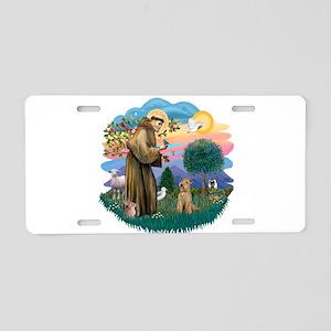 St Francis #2/ Lakeland T Aluminum License Plate