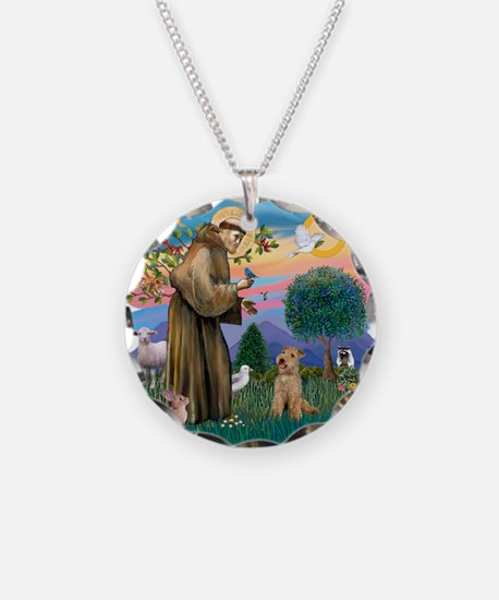 St Francis #2/ Lakeland T Necklace