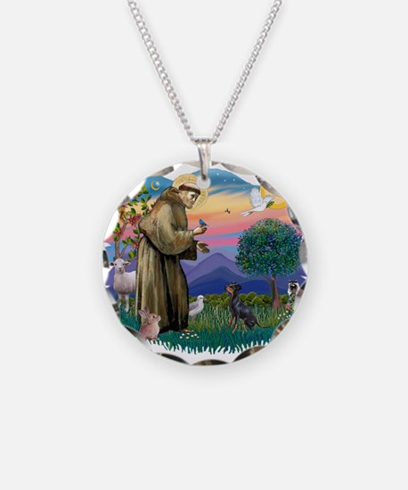 St.Francis #2/ Manchester T Necklace