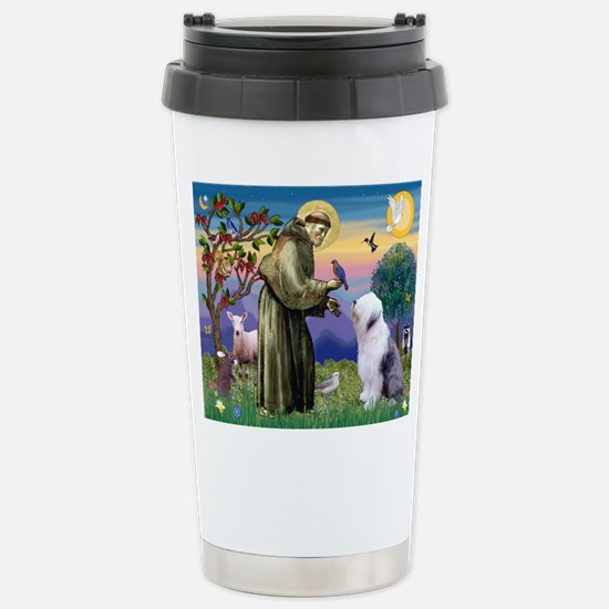 ST. FRANCIS + OES Stainless Steel Travel Mug