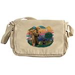 St Francis #2 / PWD (sit) Messenger Bag