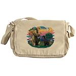 St.Francis #2/ Giant Schnauze Messenger Bag