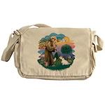 St Francis #2/ Sealyham T Messenger Bag