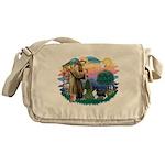 St.Francis #2 / Shetland Shee Messenger Bag