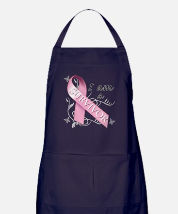 I Am A Survivor Apron (dark)