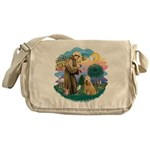 St Francis #2/ Wheaten #2 Messenger Bag