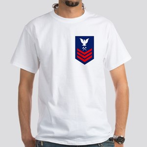 Damage Controlman First Class White T-Shirt
