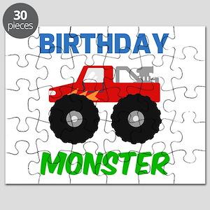 Birthday Monster Puzzle