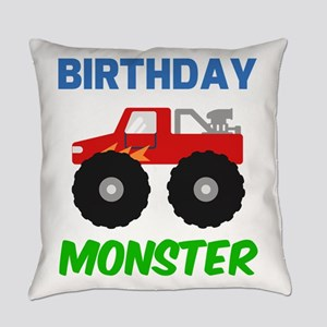 Birthday Monster Everyday Pillow