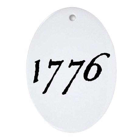 DECLARATION NUMBER TWO™ Ornament (Oval)