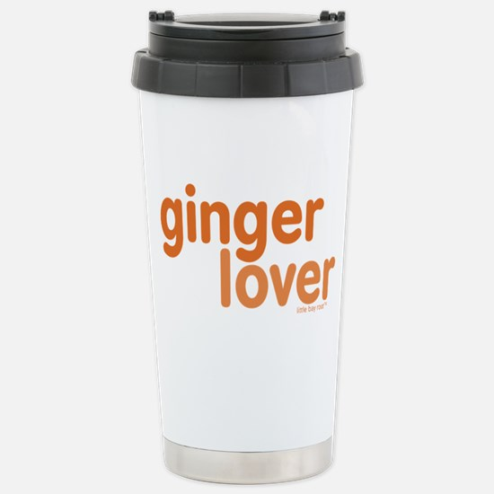 Ginger Lover Stainless Steel Travel Mug
