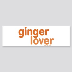 Ginger Lover Sticker (Bumper)