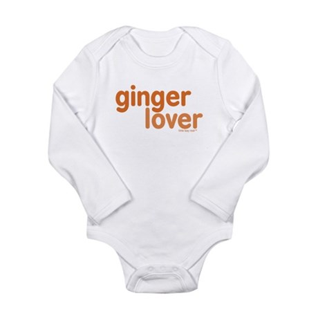Ginger Lover Long Sleeve Infant Bodysuit