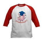 Graduated! Kids Baseball Jersey